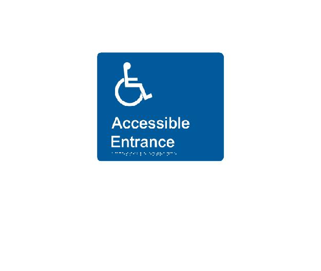 Accessible Entrance LH/RH