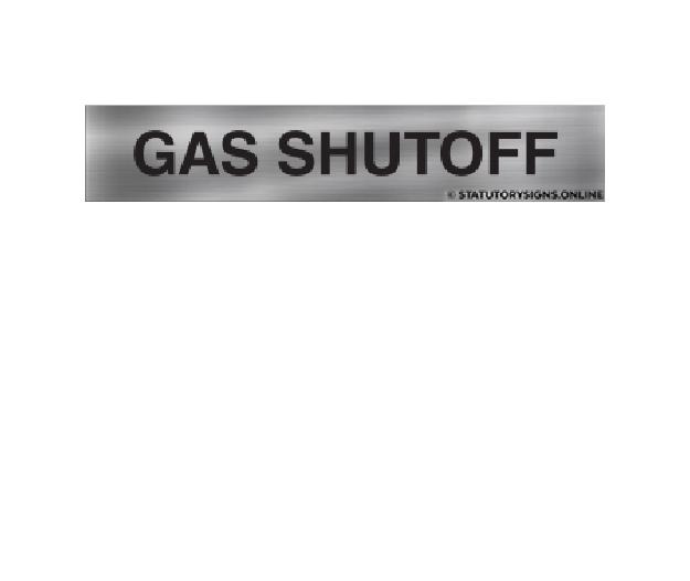 Gas Shutoff