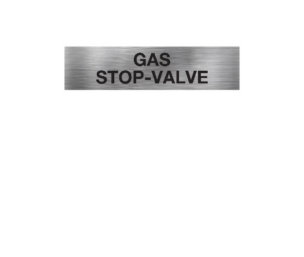 Gas Stop Valve