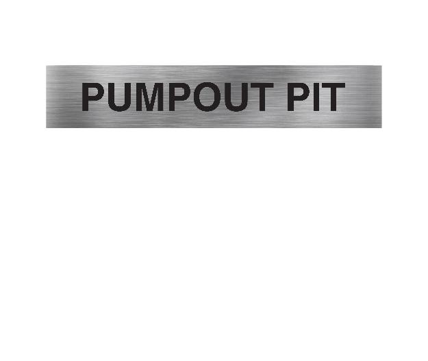 Pumpout Pit