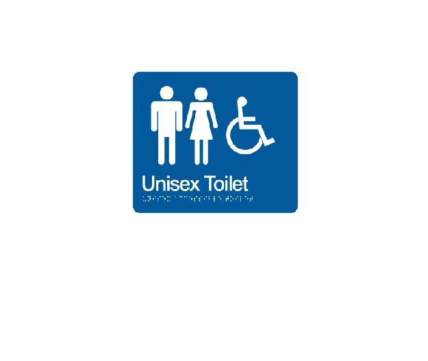 Unisex Toilet Accessible LH/RH