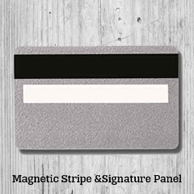 Signature and Magentic Strip